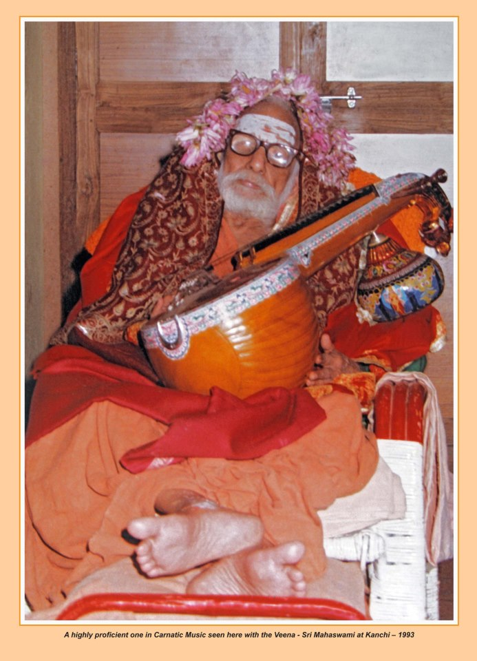Let's Listen To Maha Periyava Singing Thevaram…