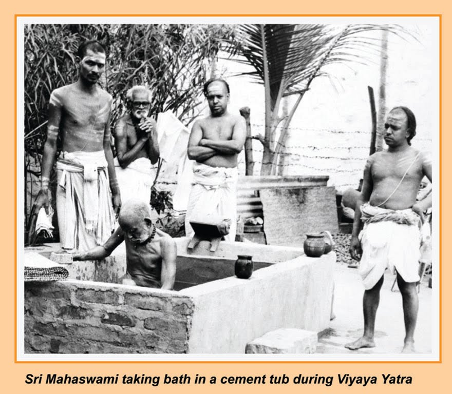 periyava and sevakas