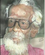 Sri Sivan SAR – A Tribute Painting By Sri Umesh