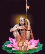 She rested in the shadow of Sri MahaPeriyava