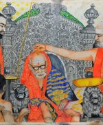Beautiful sketches of Sri Periyava by Sri.K.Rangarajan