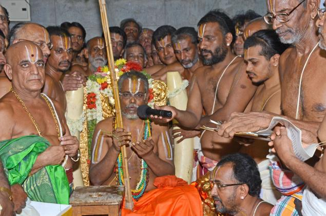 A Divine Experience That Speaks For Itself – Ahobilam Jeeyar Swamigal…